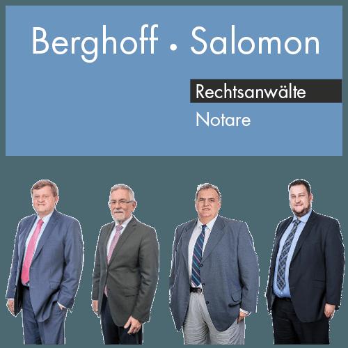 Berghoff Salomon Rechtsanwälte Notare Hamm Fachanwälte