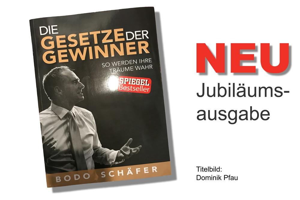 Bodo Schäfer: Die Gesetze der Gewinner, Titelbild: Dominik Pfau