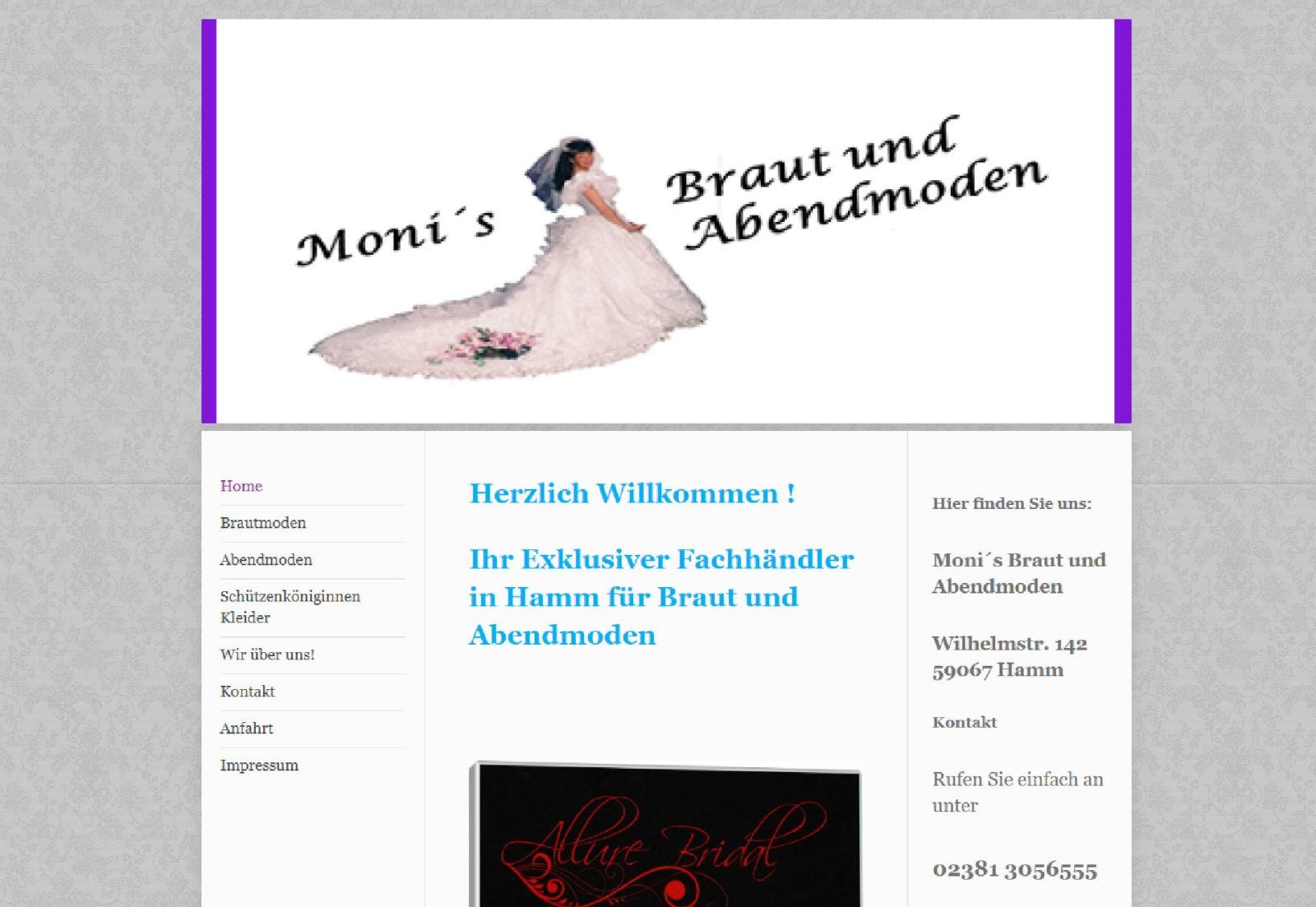 Monis Braut-& Abendmoden, Schützenkleider Hamm Monika Egden